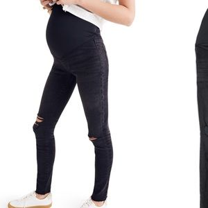Madewell Maternity Skinny Jeans 26